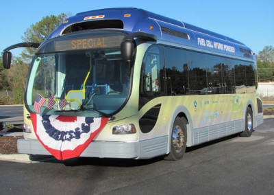 Proterra Prototype Fuel Cell Hybrid Bus