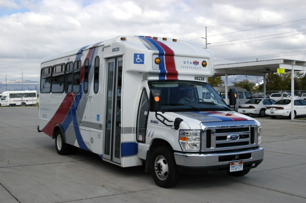 UTA Paratransit Reduced Idling System
