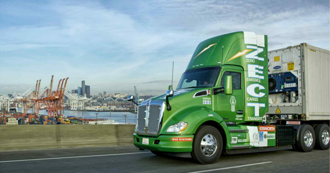 Zero Emission Cargo Transportation Fuel Cell Drayage Truck Project