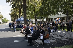 Orange County Fuel Cell Bus Ribbon Cutting