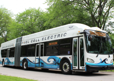 Champaign-Urbana Fuel Cell Bus Deployment