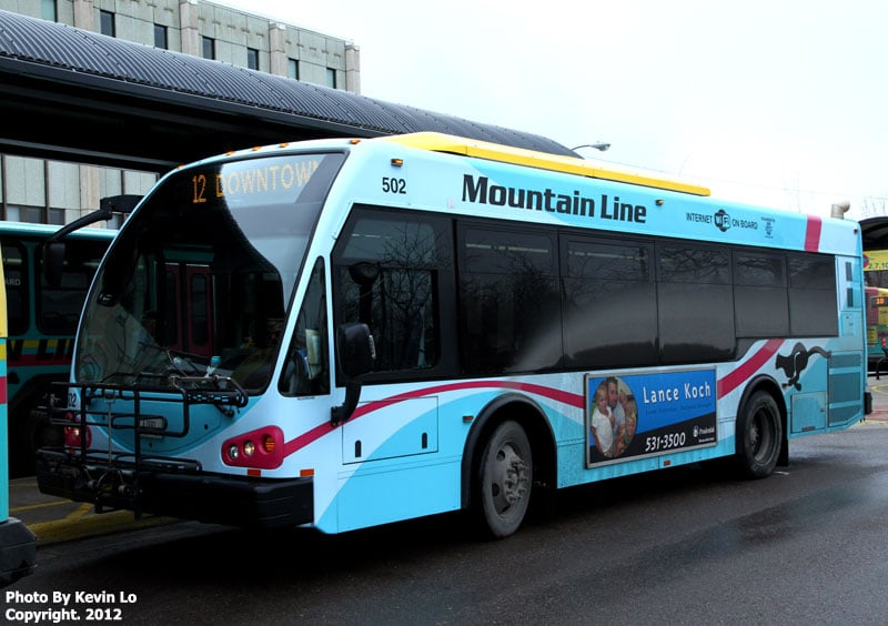 Mountain Line Electric Bus Deployment