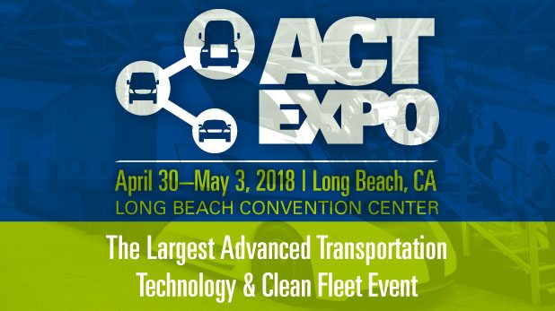CTE Representing at the Advanced Clean Transportation Expo