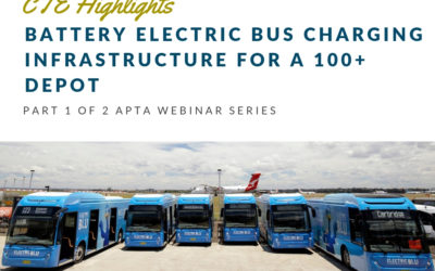 Highlights: Battery Electric Bus Charging Infrastructure for a 100+ Depot