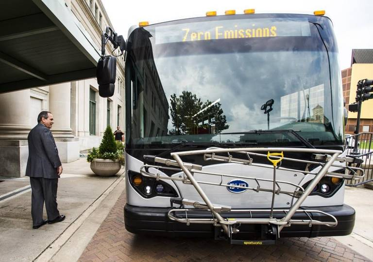 You will barely hear these new buses as they travel Macon streets
