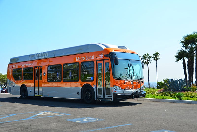 New Flyer Partners with L.A. Transit to Test Crash Avoidance Technology